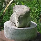 Head I by John Joekes, Sculpture, Lepine Limestone
