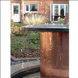 Sundial memorial by John Joekes, Sculpture, Slate, Copper and Purbeck Cap