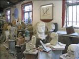 View of Interior Workshop by John Joekes, Sculpture